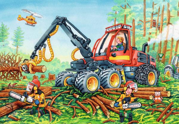 Diggers at Work