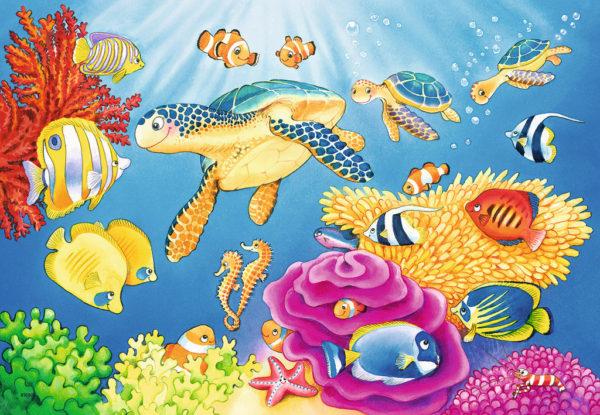 Vibrance Under the Sea