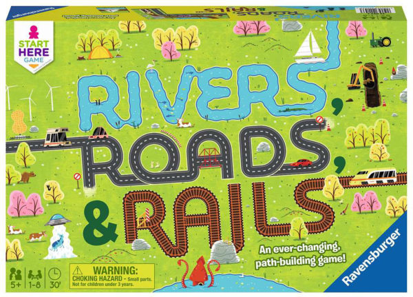 Start Here Game: Rivers, Roads & Rails
