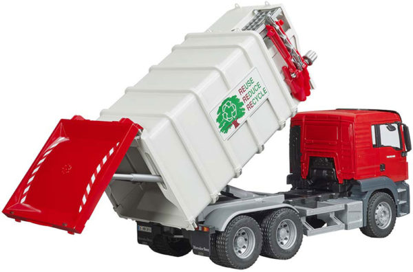 MAN TGS Sige loading Garbage Truck