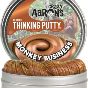 "Monkey Business Metallic Putty 4"" Tin"