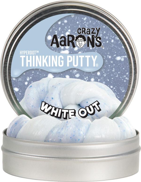 "Whiteout 4"" Hyperdot Thinking Putty"