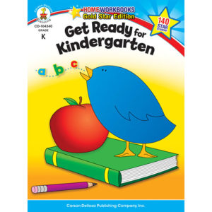Get Ready For Kindergarten Home Workbook - Gold Star Edition