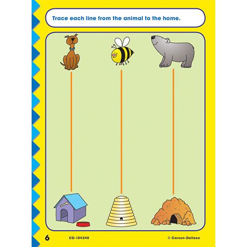Get Ready For Kindergarten Home Workbook - Gold Star Edition