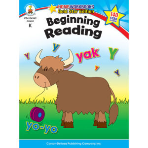 Beginning Reading (K) Home Workbook - Gold Star Edition