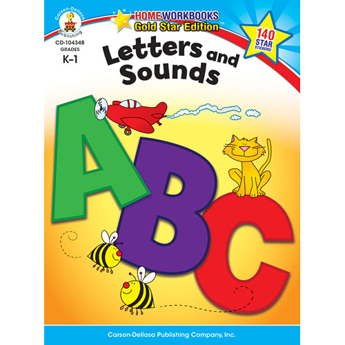 Letters And Sounds (K - 1) Home Workbook - Gold Star Edition