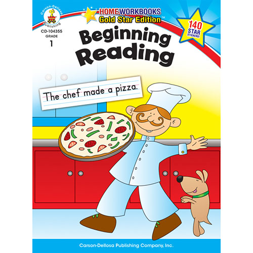Beginning Reading (1) Home Workbook - Gold Star Edition