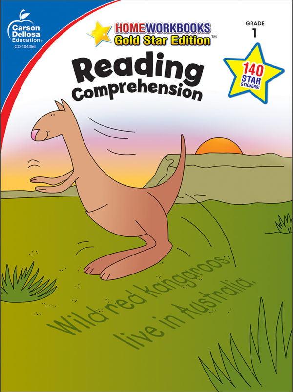 Reading Comprehension (1) Home Workbook - Gold Star Edition