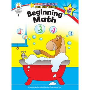 Beginning Math (1) Home Workbook - Gold Star Edition