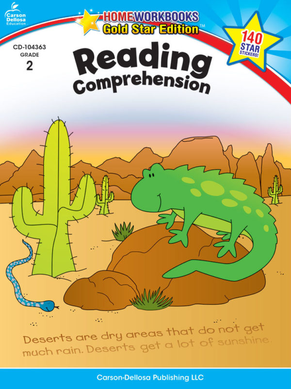 Reading Comprehension (2) Home Workbook - Gold Star Edition