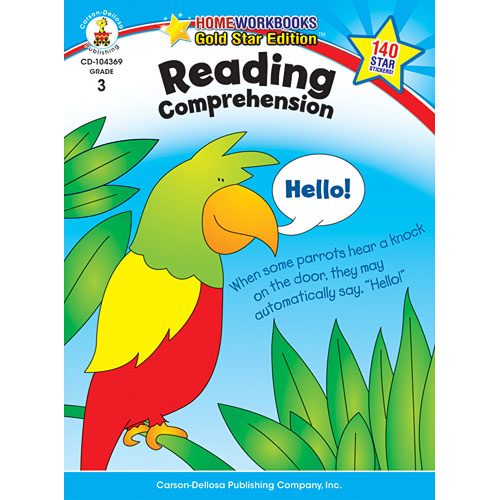 Reading Comprehension (3) Home Workbook - Gold Star Edition
