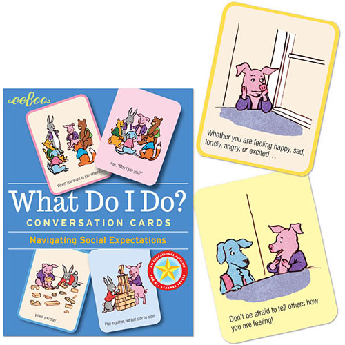 What Do I Do? Conversation Cards