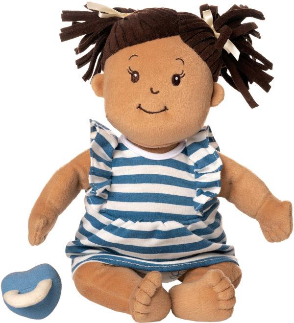 Baby Stella Beige Dolle w/ Brown Hair