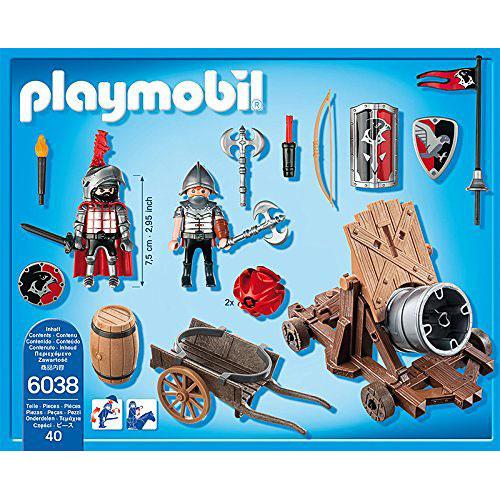 Playmobil Hawk Knights Battle Cannon