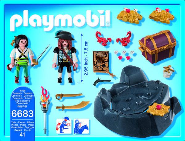 PLAYMOBIL Pirate Treasure Hideout Playset