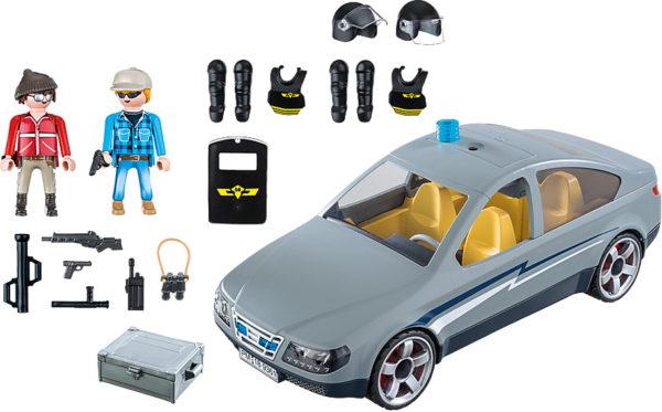 Tactical Unit Undercover Car