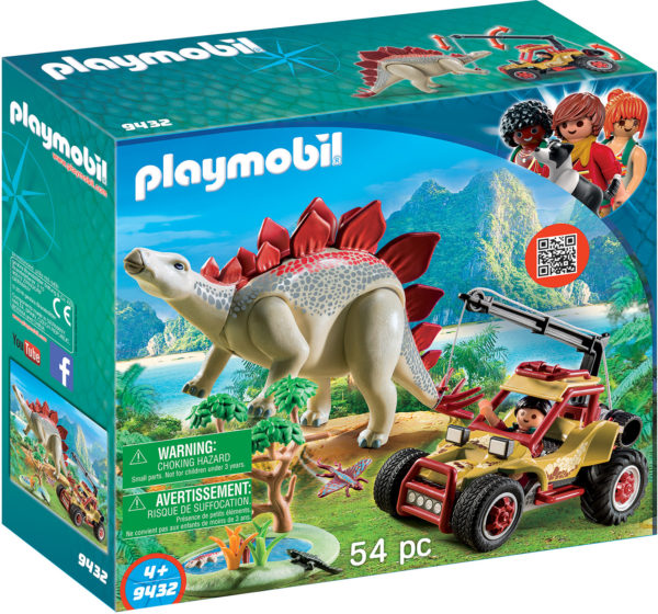Vehicle With Stegosaurus