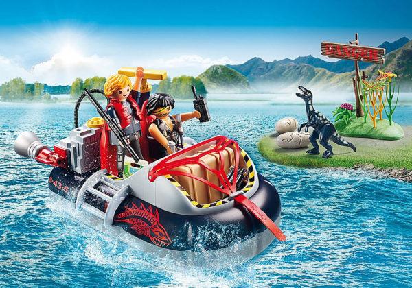 Dino Hovercraft with Underwater Motor