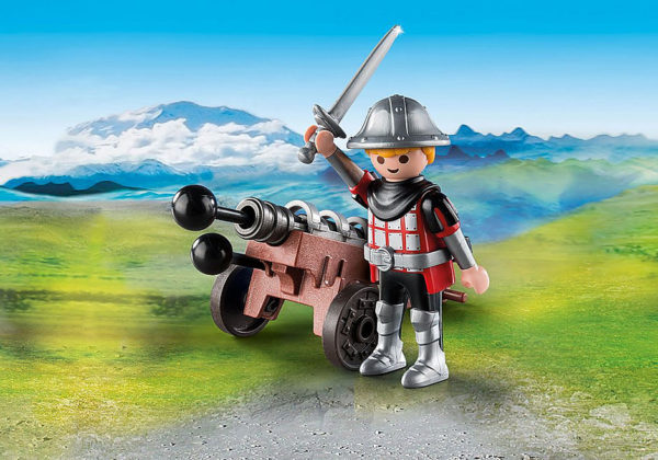 Knight With Cannon