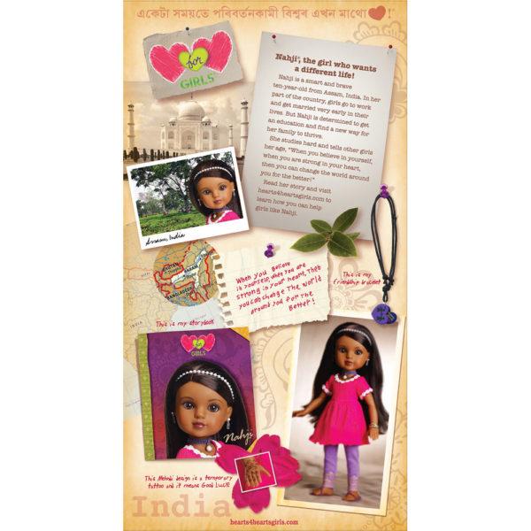 Nahji, India Doll