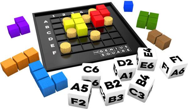 The Genius Square Game
