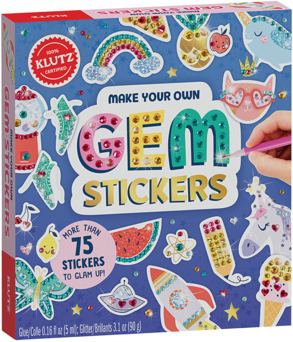 Make Your Own Gem Stickers
