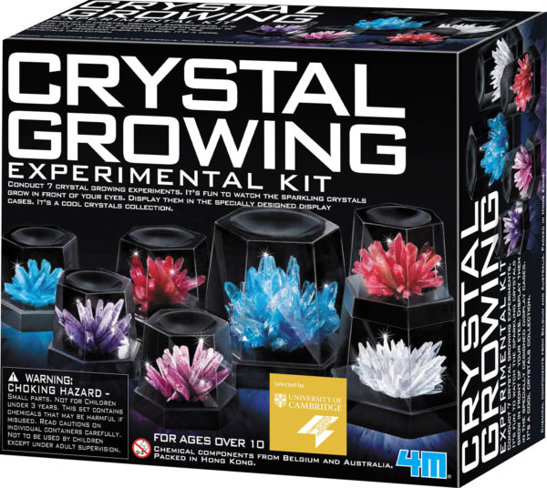 CRYSTAL GROWING EXPERIMENT