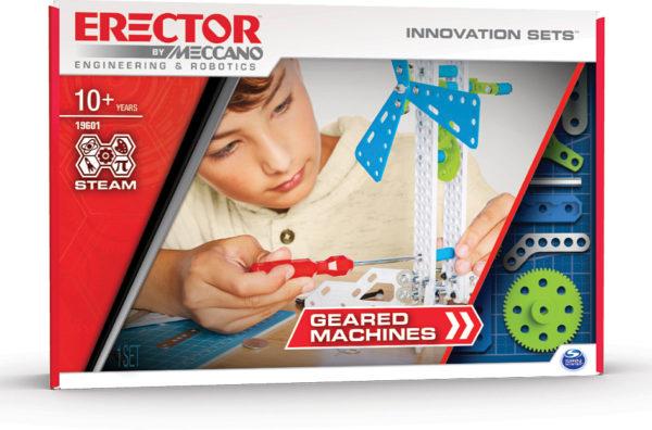 Erector by Meccano Geared Machines