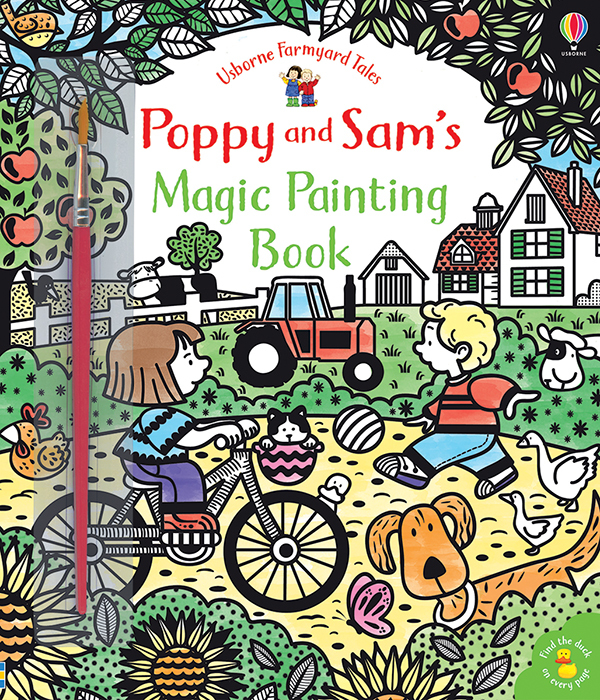 Magic Painting Book, Poppy And Sam'S