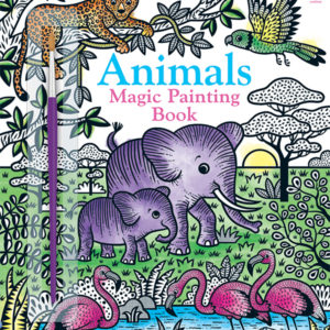 Magic Painting Book, Animals