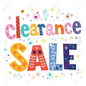 Clearance/Sales